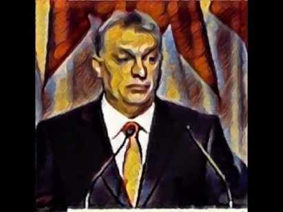 orbán tekening