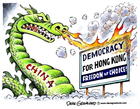 hong kong democratie