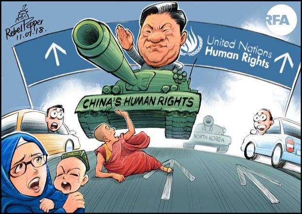 china terreur